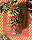 Mountain Dew Limited Edition Flaming Hot 6 Pack Case 16oz Cans (Unopened)