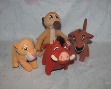 Disney Lion King II Simba's Pride McDonalds Plush Set 4 - Kiara, Kovu, Timon