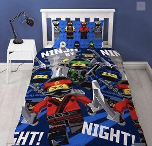 Lego Ninjago Single Bedding Set Boys