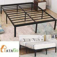 TATAGO King Size 16 Inch Heavy Duty Platform Metal Bed Frame Mattress Foundation