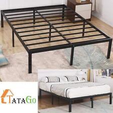 Tatago King Size 16 Inch Heavy Duty Platform Metal Bed Frame Mattress Foundation