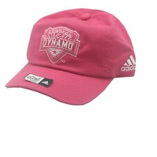 Houston Dynamo Official MLS Adidas Youth Girls OSFM Adjustable Back Hat Cap New