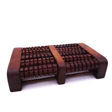 Fuß-Massage Roller aus Holz zur Selbstmassage, 2 x 5 Rollen - MyThaiMassage