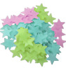 Stars Fluorescent Glow in the Dark Wall Decor Ceiling Decoration Stickers 100 Pc