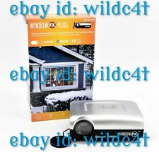Window Fx Plus Holiday Video Decorating Projector Kit w/ 16 Videos New - Latest