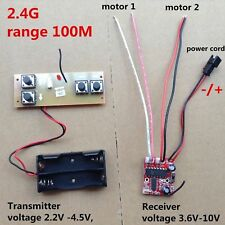 2.4G Transmitter & Receiver 4-channel distance 100m / Differential Turn RC boat