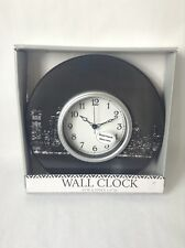 "Night City Wall Clock (NEW) 10"" W By 10"" H 1.57"" D"