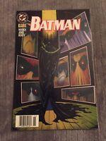 BATMAN #524 Newsstand Variant [DC COMICS, 1995]