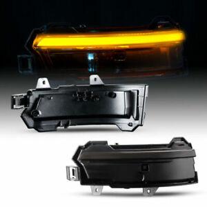 LED Blinker Aussenspiegel für LAND ROVER RANGE ROVER EVOQUE 2015-2018 | SCHWARZ