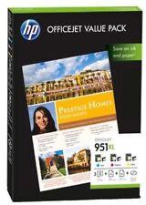 Cartuchos de tinta cian para impresora HP