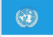United Nations Flag UN Flag  Indoor/Outdoor Banner Pennant New Outdoor 3x5 FT