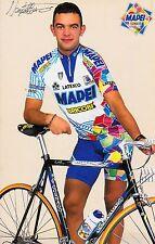 CYCLISME carte  cycliste DANIELLE NARDELO équipe MAPEI bricobi