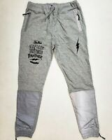 Post game 100% AUTHENTIC mens LARGE gray reflective athleticism joggers
