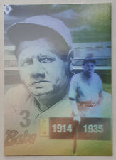 Babe Ruth 1992 Gold Entertainment H5 Hologram card NM Condition