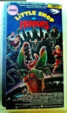 Little Shop Of Horrors VHS 1986 Used In good condition Vintage Cult Classic