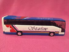 Die Cast Toy Starline Tourbus - Ss9851 With Opening Door - 8""