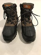 Men Leather/Rub Thinsulate Ozark Trail Eagle Insulation Waterproof Boots Size 10