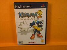 ps2 KLONOA 2 LUNATEAS Lunatea's Veil Playstation PAL ENGLISH Version