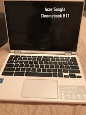 """Acer Chromebook R11 CB5-132T-C1LK 11.6"""" (32GB, Intel Celeron N, 1.60GHz, 4GB)..."""