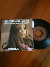 SHEILA  Rare EDITION 1 ER LABEL PLASTIFIE AVEC LANGUETTE