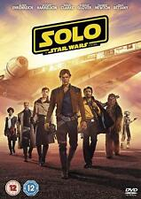 Solo a Star Wars Story 2018 Genuine UK R2 DVD Immediate DISPATCH