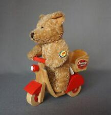 Fizzy Teddy Bär auf Scooter Scooty Nours Frankreich