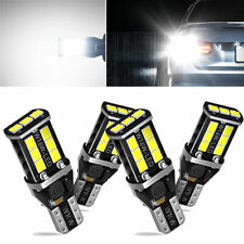 4pc Auxito Led Reverse Back Up Light Bulb 921 912 W16w 904 916 Super White 6000k