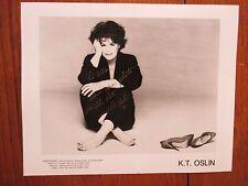 """K. T. OSLIN (""""I'll Always Come Back""""/""""Do Ya"""") Signed  8 x 10 Black & White Photo"""