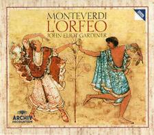 Monteverdi* - John Eliot Gardiner – L'Orfeo [New & Sealed] 2CD