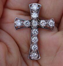 1.40ct G/SI Diamond cross pendant no chain
