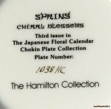 Spring-Cherry Blossums 3rd Issue Japanese Floral Calender