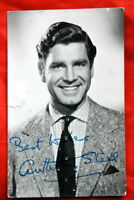 ANTHONY STEEL 50' VERY RARE AUTOGRAPHED PROMO PHOTO