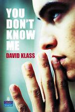 Very Good, You Don't Know Me? (NEW LONGMAN LITERATURE 11-14), Klass, David, Book