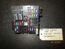 04 CHEVY SILVERADO 2500 A.T FUSE BOX #15058033-7 *See item description*