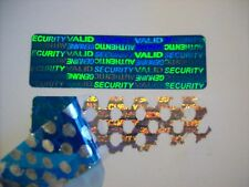 1000 Green SVAG Warranty Protection Security Labels Sticker Tamper Evident Seals