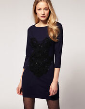 new RRP $750 MARKUS LUPFER SEQUIN COCKTAIL DRESS TUNIC L 14 last
