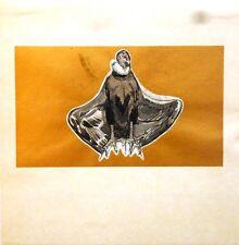 """Gravure sur bois - Paul JOUVE, """"Un faucon sur fond doré"""""""
