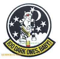 F-14 TOMCAT 100 DARK ONES BABY PATCH US NAVY USS TAILHOOK VF NAS MIRAMAR NARDET