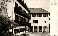 Bad Liebenstein DDR Postkarte 1962 gelaufen Partie am Haus Else Puschkinstraße