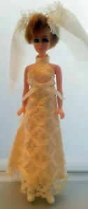 Vintage 1970 Dawn Doll Bride
