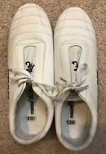 Tiger Claw Martial Arts Shoes White Shoes Size 12H