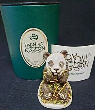 Harmony Kingdom Bamboozled Panda Figuring Made in England Nib