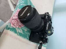 Canon A-1 With Tamron 70-210Mm lens
