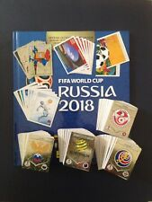 Panini World Cup Russia 2018 Hard Cover Album and Complete Set of (682 Stickers)