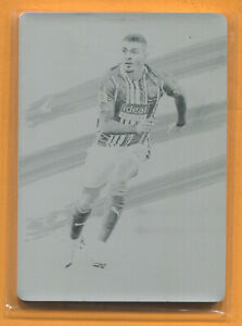 Karlan Grant 2020-21 Panini Impeccable Premier League Soccer 1/1 Printing Plate