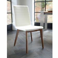 Dwell Faux Leather Dining Room Chairs Part 77