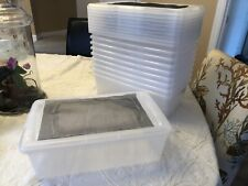 Reptile Breeder Boxes Insect Storage Screen Top Cage