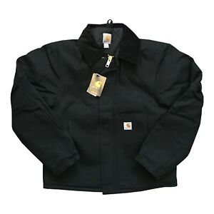 NWT Carhartt J002 Arctic-Lined Traditional Jacket Medium Black Discontinued