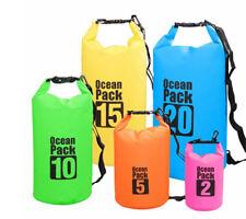 Floating Waterproof Dry Bag 10L/20L/30L, Roll Top Dry Sack Keeps Gear Dry Bags