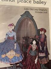 """Elinor Peace Bailey 28"""" Cloth Victorian Doll Pattern - Little Old Lady Originals"""